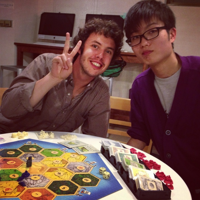 Each month there is a game night at the cafe as an outreach to college students.