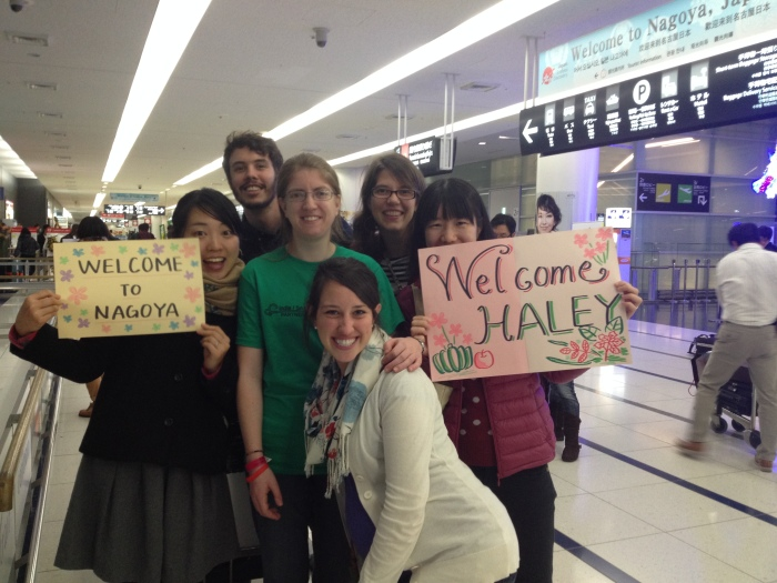 While at the airport to welcome Riva's mom we also were able to welcome our newest teammate off the plane: Haley Lebo!
