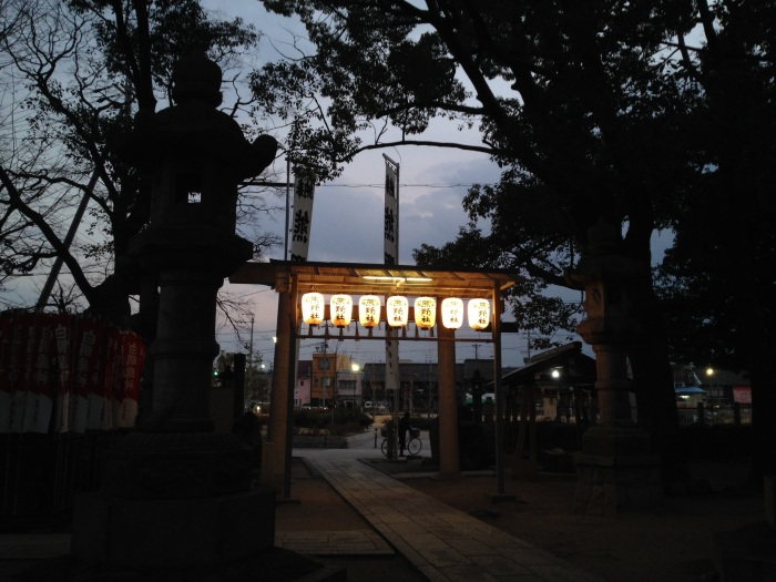 Japanese New Year is a major holiday here. Hatsumōde  (the first visit to a shrine) is an important custom. Most people go right after midnight on New Years to make their wishes for the upcoming year.