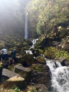 Yoro Waterfall where we took the youth group hiking last week.
