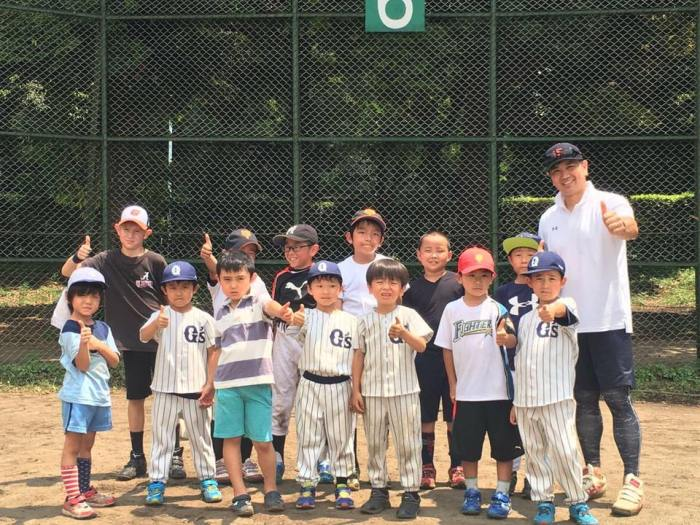 Kai on baseball team
